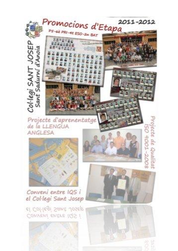 [pdf] PROMOCIONS COL·LEGI SANT JOSEP 2011-2012 – 2BAT