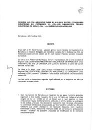 CONVENI DE COL-LABORACIO ENTRE EL COL-LEGI OFlCiAL D ...