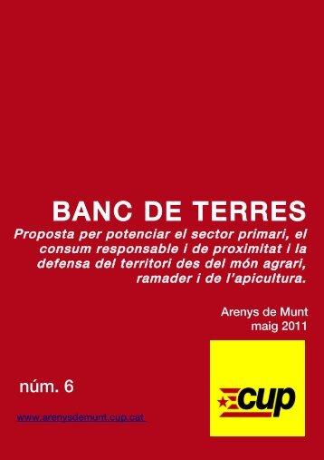 BANC DE TERRES.pdf - CUP d'Arenys de Munt