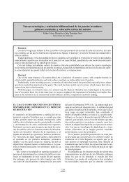 primeros resultados y valoración crítica del méto - creap