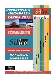 catalogo referencias vehiculo industrial - sillco