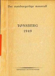 Det statsborgerlige manntall for Tønsberg 1949