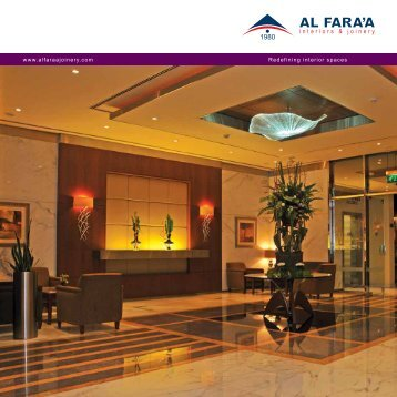 Al Fara'a Interiors & Joinery - Al Fara'a Interior and Joinery Division