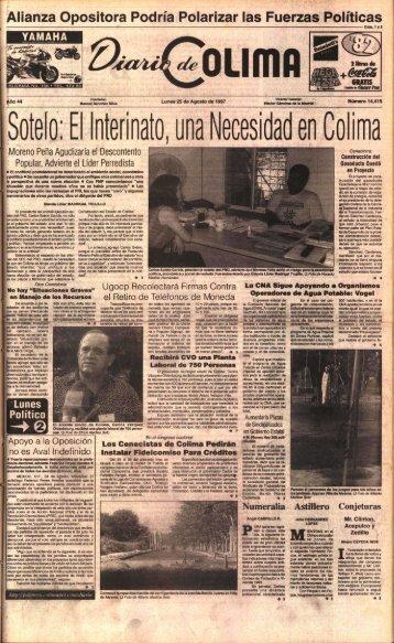 s - Universidad de Colima