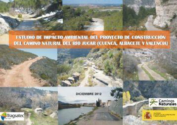 eia camino natural jucar - Ministerio de Agricultura, Alimentación y ...