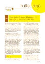 Hiperpotassèmia per bloquejadors del sistema renina-angiotensina ...