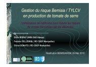 G-PBI - INRA Montpellier