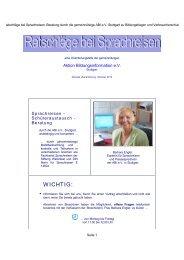 Ratschläge bei Sprachreisen als PDF zum Ausdrucken