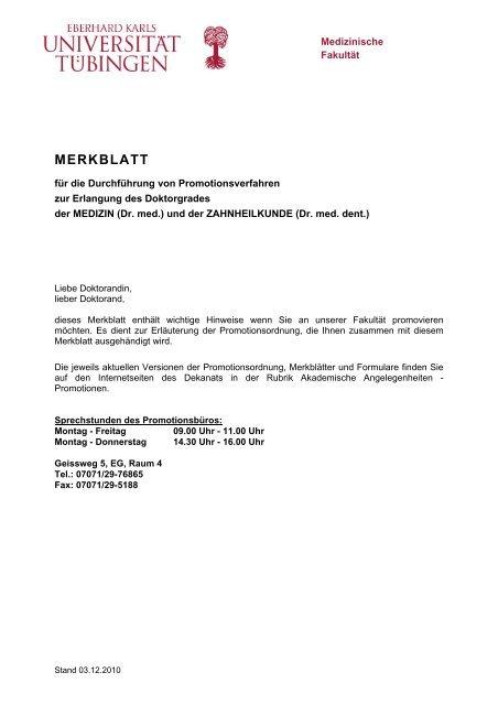 merkblatt dissertation uni ulm