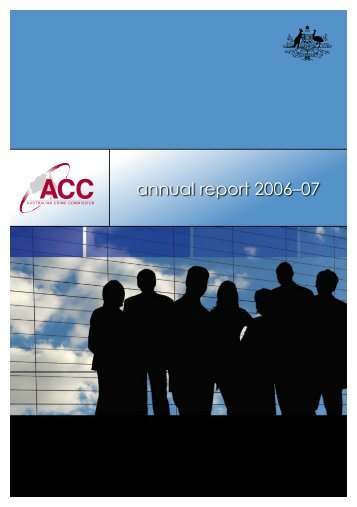 Annual Report 2006-2007( Tabled Paper Number 3521)
