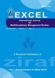 EIJMMS VOLUME - 01 ISSUE - 03 ( December , 2011 ) - zenith ...