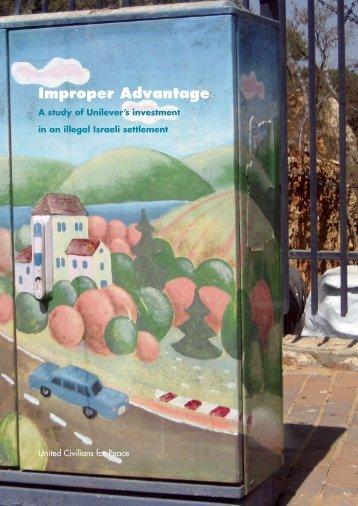 Improper Advantage - Who Profits