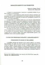 ARMAZENAMENTO DAS SEMENTES - Ainfo