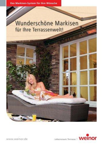 Wunderschöne Markisen - Metallbau Kuhnert GmbH