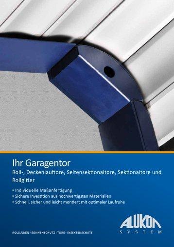 Ihr Garagentor - Alukon GmbH & Co. KG