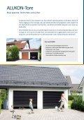 Ihr Garagentor - Alukon GmbH & Co. KG - Seite 2