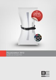 Haustüraktion 2013 - Metallbau Kuhnert GmbH