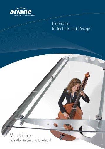 Vordächer - Metallbau Kuhnert GmbH