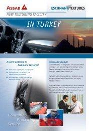 IN TURKEY - Eschmann Textures