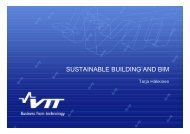 SUSTAINABLE BUILDING AND BIM