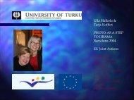 Ulla Halkola & Tarja Koffert PHOTO AS A STEP TO DRAMA ...