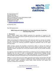 Ms Tarja Saastamoinen Assistant Secretary Strategic Policy Branch ...