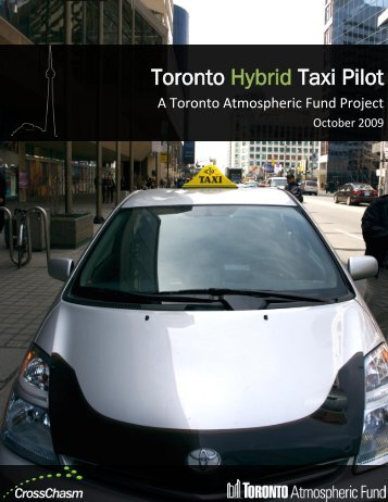 Toronto Hybrid Taxi Pilot - FleetWise