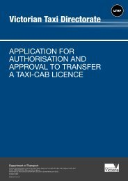 Application for authorisation and approval to transfer a taxi-cab ...