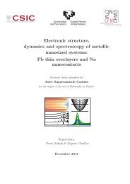 Electronic structure, dynamics and spectroscopy of metallic ...