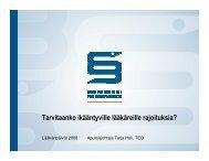 (Microsoft PowerPoint - ik\344\344ntyv\344t l\344\344k\344rit Tarja ...