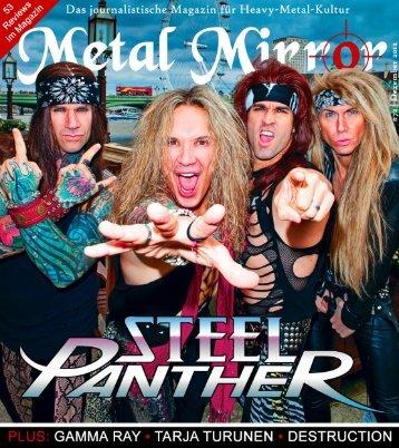 METAL MIRROR #72 - Steel Panther, Destruction, Tarja Turunen ...