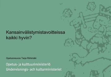 Tarja Riihimäki_esitys