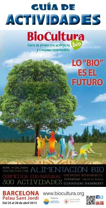 Guía de actividades Bcn 2013 (cast). - Biocultura