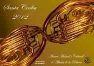 Llibret. - Ateneu Musical i Cultural - Albalat de la Ribera