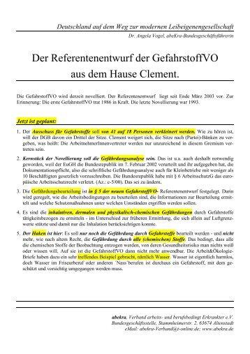 Deutschland auf dem Weg zur modernen ... - abeKra