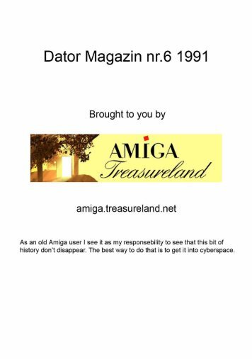 DATORMAGAZIN AMIGA PDF DOWNLOAD