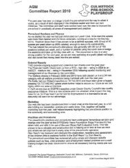Com m ittee Report 2010 - Charity Commission