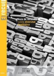 Guia de recursos sobre diversitat lingüística - Centre UNESCO de ...