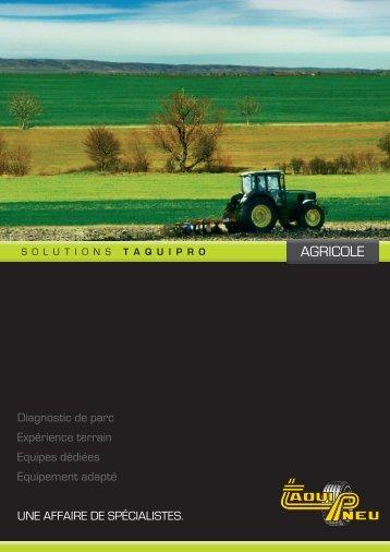 AGRICOLE - Taquipneu
