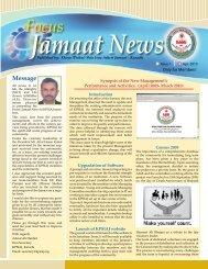 Message - Khoja (Pirhai) Shia Isna Asheri Jamaat
