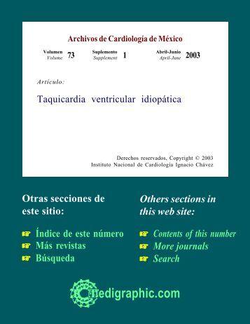 Taquicardia ventricular idiopática - edigraphic.com