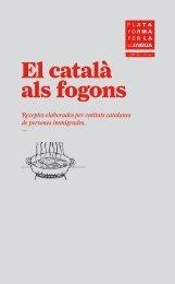 Receptari 'El català als fogons' - Plataforma per la Llengua