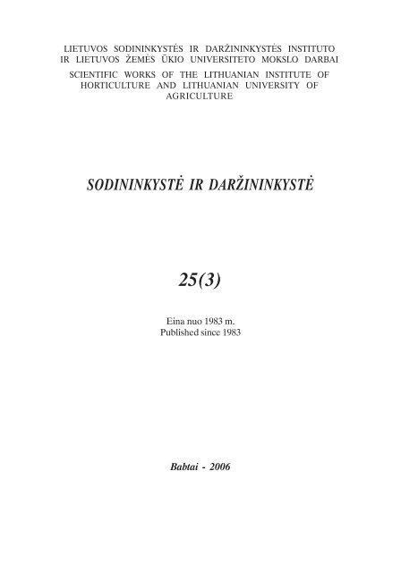 Volume / tomas 26(3)