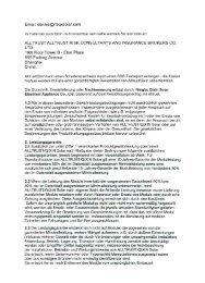 Leistungsgarantie Solarmodule Übersetzung - sonalis ottweiler