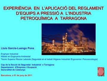 Ponència Generalitat L.Garcia-Luengo - Enginyers Industrials de ...