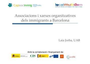 Associacions d'immigrants (Laia Jorba) - Fundació Jaume Bofill