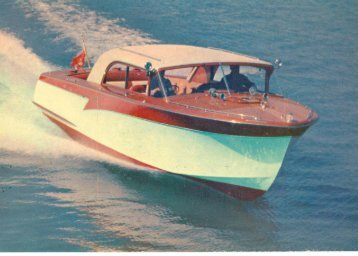 1958 custom 27 sedan Model 150 - Shepherd Boats
