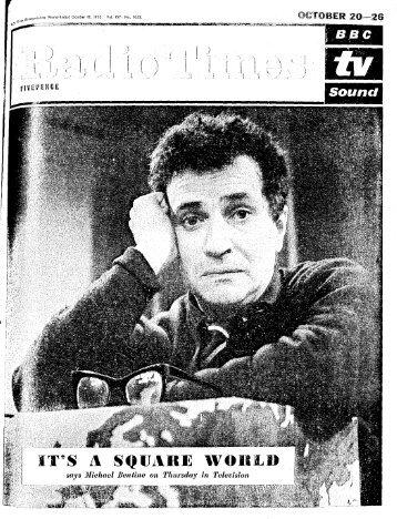 Radio Times, October 18, 1962 - solearabiantree