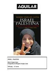 ISRAEL / PALESTINA Mario Vargas Llosa Fotografías de ... - Alfaguara