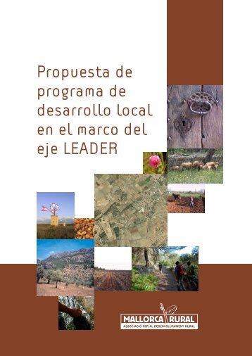 Propuesta de programa de desarrollo local en el ... - Mallorca Rural